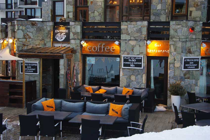 Le Coffee bar/restaurant