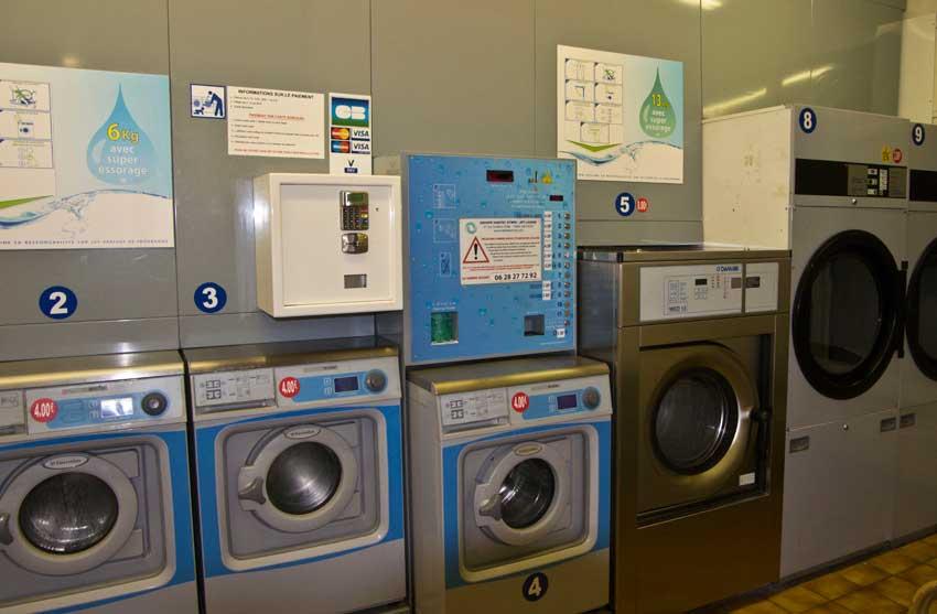 The launderette 'Le Rat Blanc' in Tignes Val Claret