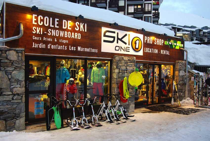 Ski One sports shop