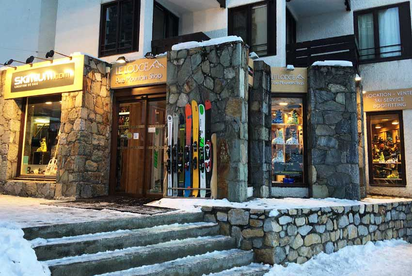 Skimium Le Lodge ski shop